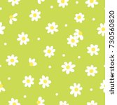 tiny flowers seamless pattern.... | Shutterstock .eps vector #730560820