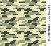military seamless pattern.... | Shutterstock .eps vector #730561366