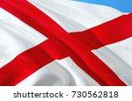 alabama flag. state of alabama. ... | Shutterstock . vector #730562818