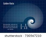Fractal Lines Golden Spiral...