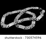 strong necklace   chain for men ... | Shutterstock . vector #730574596