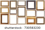 picture frame isolated | Shutterstock . vector #730583230