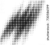 grunge halftone black and white ...   Shutterstock . vector #730586599