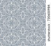 islamic vector pattern ... | Shutterstock .eps vector #730600984