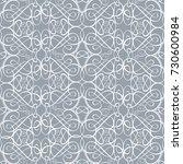 islamic vector pattern ... | Shutterstock .eps vector #730600984