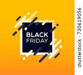 black friday sale banner.   Shutterstock .eps vector #730619056