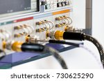 measuring high frequency... | Shutterstock . vector #730625290