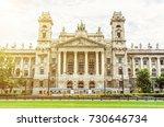 ethnographic museum building... | Shutterstock . vector #730646734