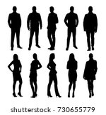 business people  group of... | Shutterstock .eps vector #730655779