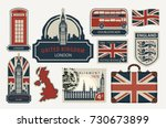 Vector Set Of British Symbols ...