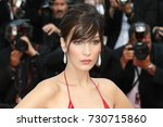 cannes  france   may 18  bella... | Shutterstock . vector #730715860
