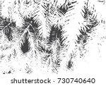 fir branches texture. christmas ... | Shutterstock .eps vector #730740640