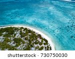 aerial view of sandy beach... | Shutterstock . vector #730750030