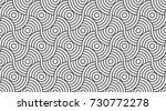 pattern seamless circle...   Shutterstock .eps vector #730772278