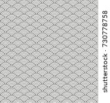 stylized seamless pattern made... | Shutterstock .eps vector #730778758