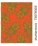 floral background. vector... | Shutterstock .eps vector #73078303
