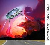 Unidentified Flying Object...