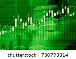 market cost economy analysis...   Shutterstock . vector #730793314