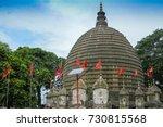 the kamakhya temple or kamrup...   Shutterstock . vector #730815568