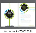 abstract vector modern flyers... | Shutterstock .eps vector #730826536