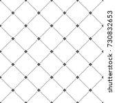 dotted line rhombus seamless... | Shutterstock .eps vector #730832653