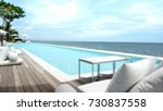 blur swimming pool looking at... | Shutterstock . vector #730837558