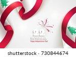 22 november. lebanon... | Shutterstock .eps vector #730844674