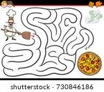 cartoon vector illustration of... | Shutterstock .eps vector #730846186