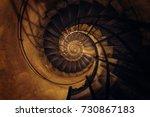 Spiral Staircase  Paris  France