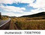 autumn landscape in the... | Shutterstock . vector #730879900