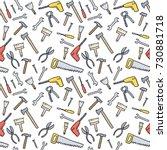 cartoon tools background  ... | Shutterstock .eps vector #730881718