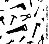 tools background   seamless...   Shutterstock .eps vector #730881964