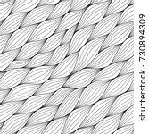 monochrome seamless pattern... | Shutterstock .eps vector #730894309