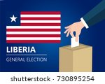 liberia democracy political...   Shutterstock .eps vector #730895254