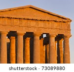 Italy  Sicily  Agrigento  Gree...