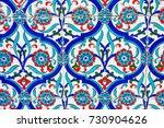 ancient hand made turkish  ...   Shutterstock . vector #730904626