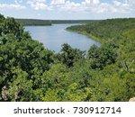 scenic overlook of lake mineral ... | Shutterstock . vector #730912714