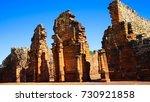 san ignacio mini. part of the... | Shutterstock . vector #730921858