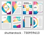 abstract vector layout... | Shutterstock .eps vector #730959613