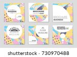 abstract vector layout... | Shutterstock .eps vector #730970488