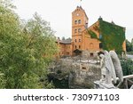 view of the reconstructed... | Shutterstock . vector #730971103