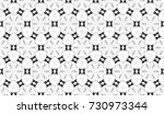 black and white seamless... | Shutterstock . vector #730973344