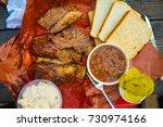 texas bbq in austin | Shutterstock . vector #730974166