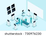 qualitative isometry  medical... | Shutterstock .eps vector #730976230