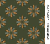 new color seamless pattern with ... | Shutterstock .eps vector #730982449