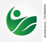 farm logo   Shutterstock .eps vector #731006944