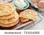 cloud bread  oopsie bread  ... | Shutterstock . vector #731016583