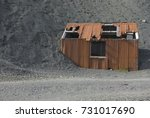 Old Rusting Miner\'s Hut In...