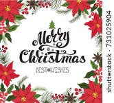 christmas party invitation...   Shutterstock .eps vector #731025904
