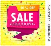 super sale poster  banner. big...   Shutterstock .eps vector #731037040
